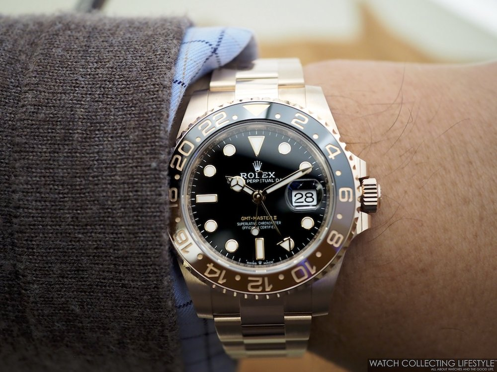 Rolex GMT Master II Everose Gold ref. 126715CHNR a.k.a 'Rootbeer'