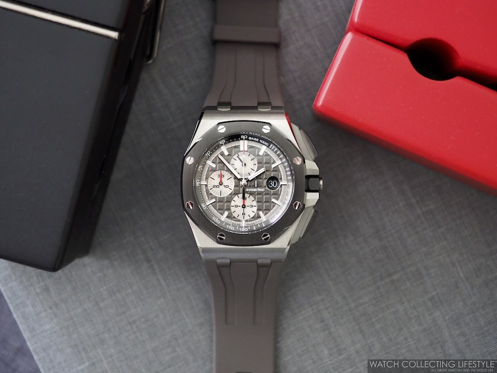 Audemars Piguet Royal Oak Offshore Chronograph 44 Titanium ref. 26400IO