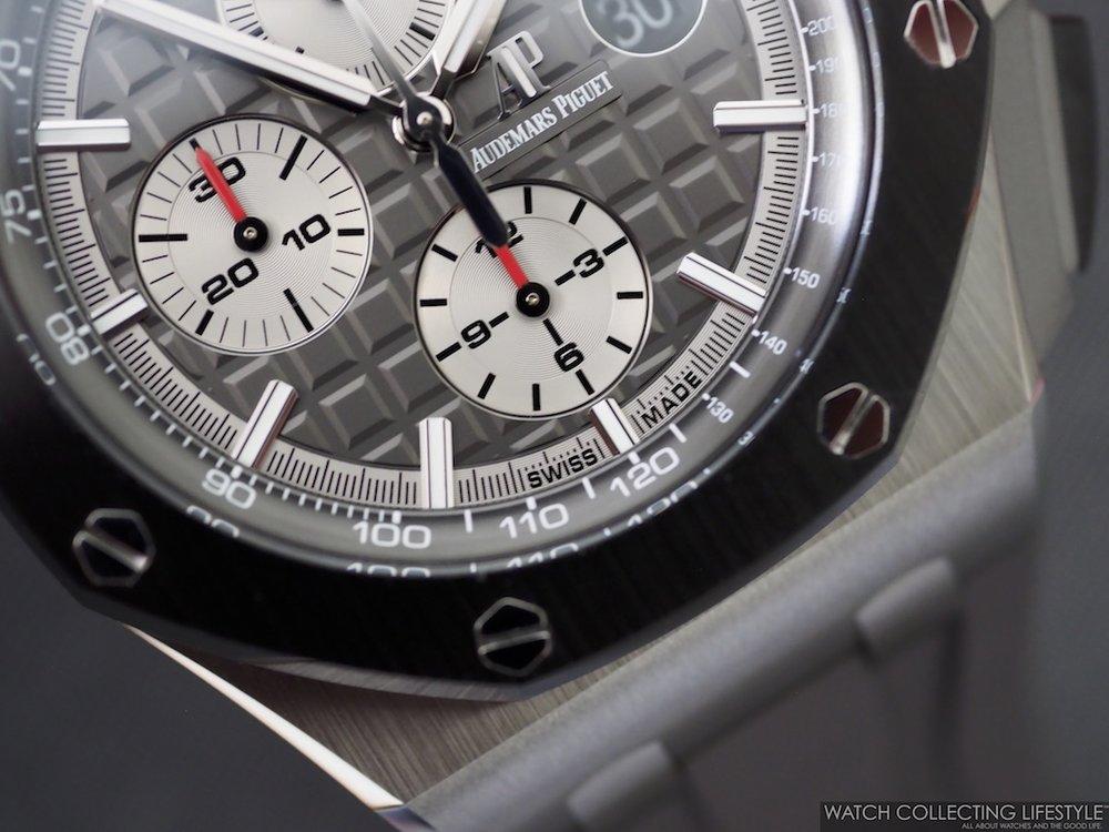 Audemars Piguet Royal Oak Offshore Chronograph 44 Titanium ref. 26400IO WCL