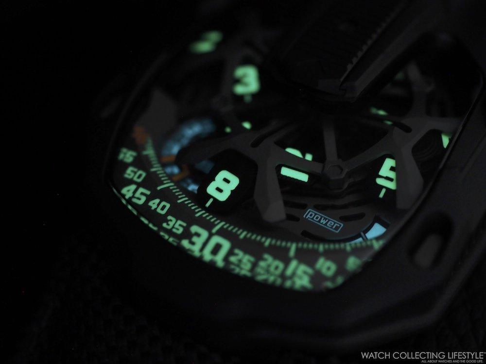 Urwerk UR-105 CT Kryptonite WCL7