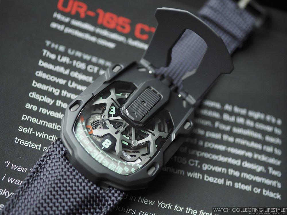 Urwerk UR-105 CT Kryptonite WCL Macro