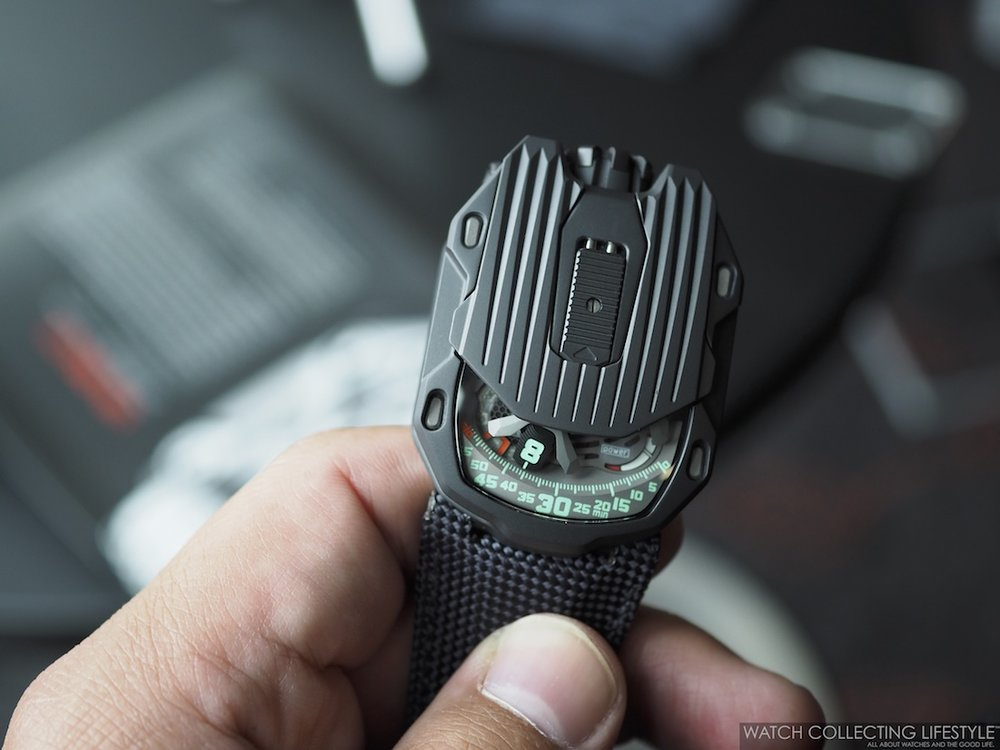 Urwerk UR-105 CT Kryptonite WCL On hand