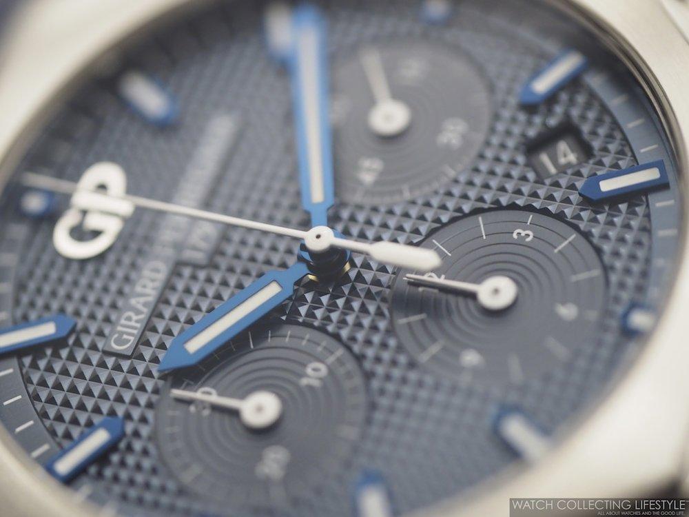 Girard-Perregaux Laureato Chronograph Blue