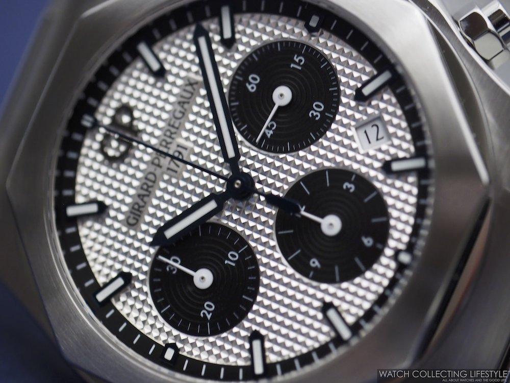 Girard-Perregaux Laureato Chronograph Panda