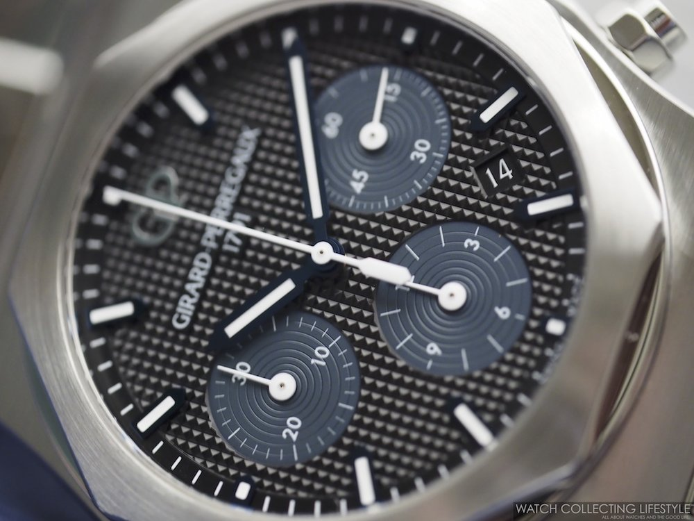 Girard-Perregaux Laureato Chronograph Blue Black