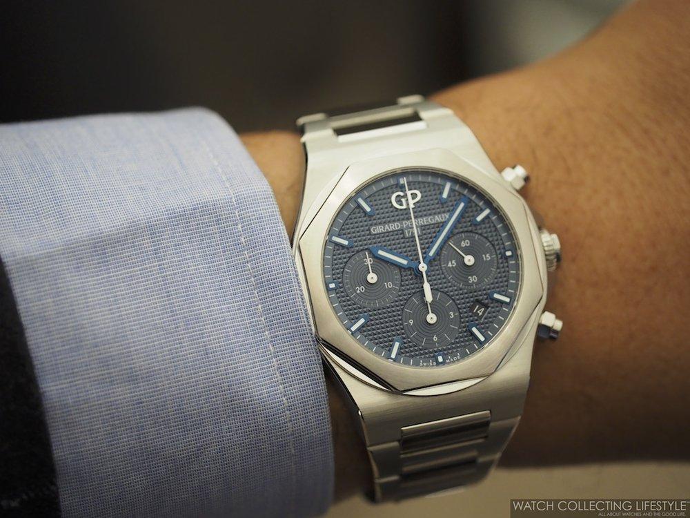 Girard-Perregaux Laureato Chronograph Wristshot