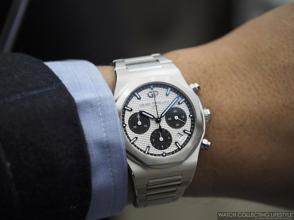 Girard-Perregaux Laureato Chronograph Wristshot3