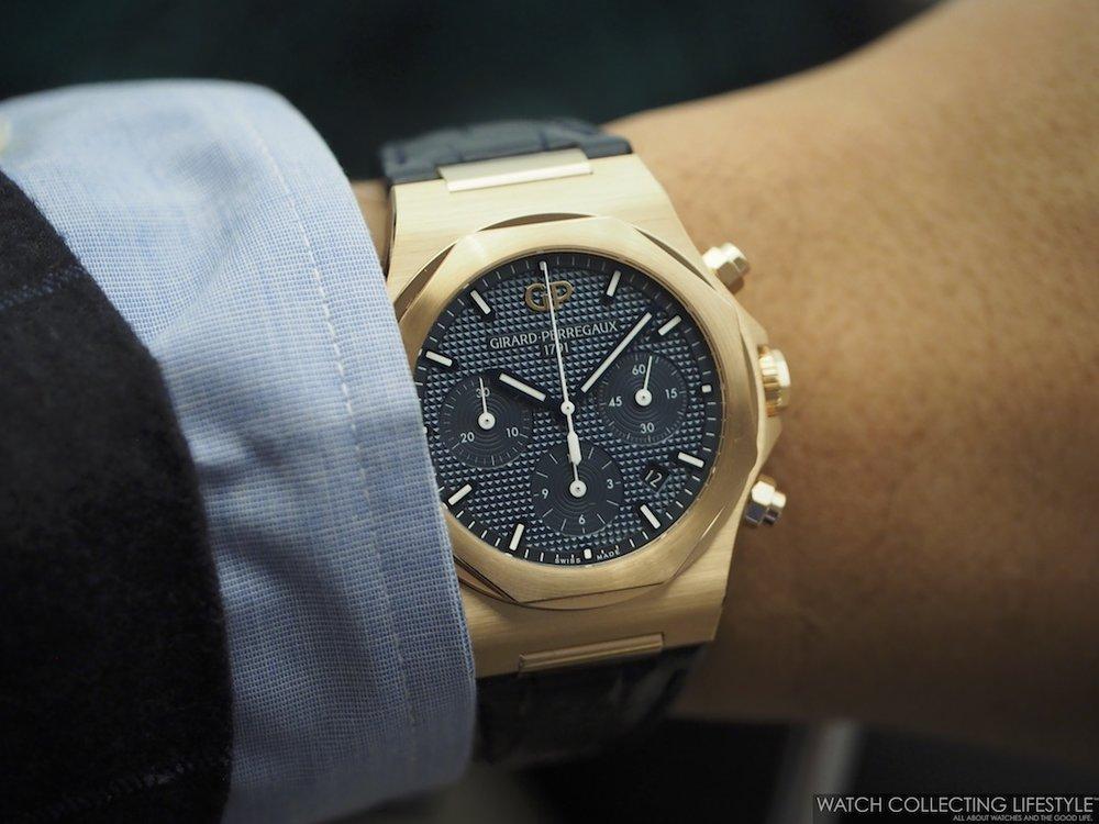 Girard-Perregaux Laureato Chronograph Wristshot Strap