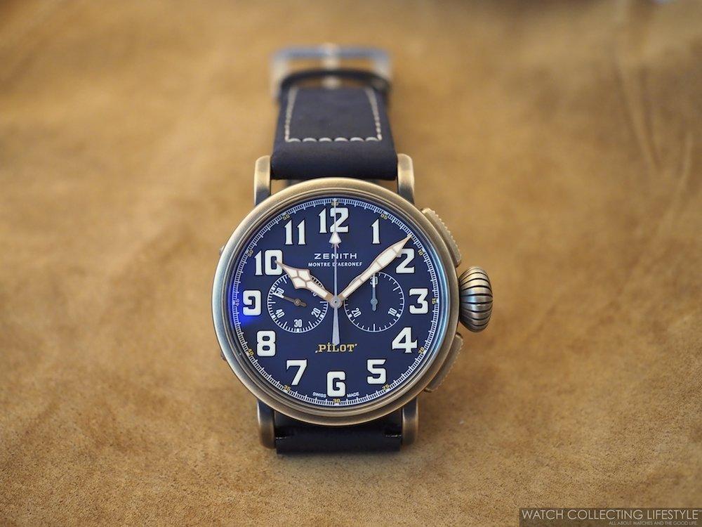 Zenith Pilot Type 20 Chronograph Extra Special Bronze Blue Dial