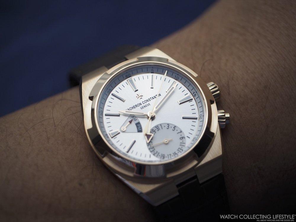 Vacheron Constantin Overseas Dual Time ref. 7900V Gold Wristshot