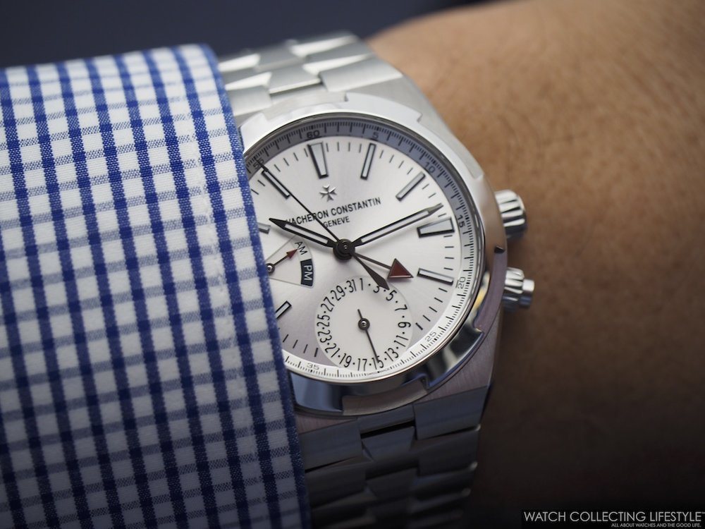 Vacheron Constantin Overseas Dual Time ref. 7900V Silver Wristshot