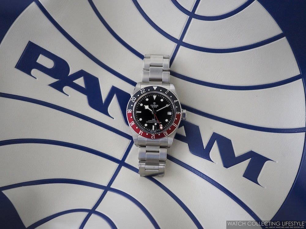 Tudor Black Bay GMT ref. M79830RB Pan Am Picture WCL