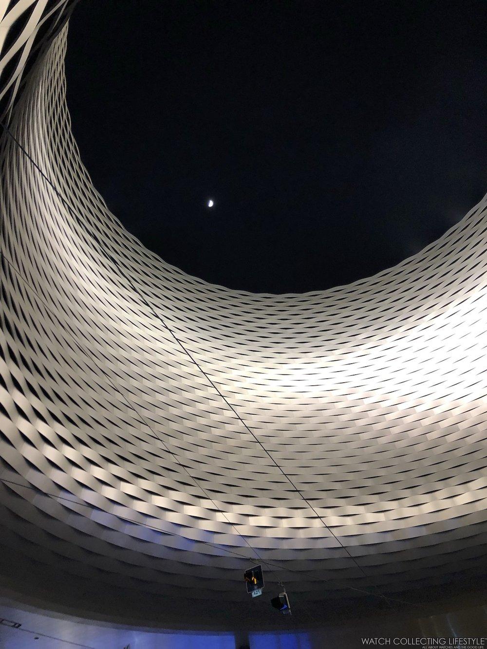 Baselworld Atrium at Night