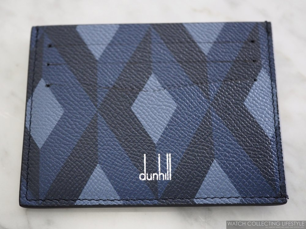 Dunhill Cadogan Engine-Turn Slip Card Case