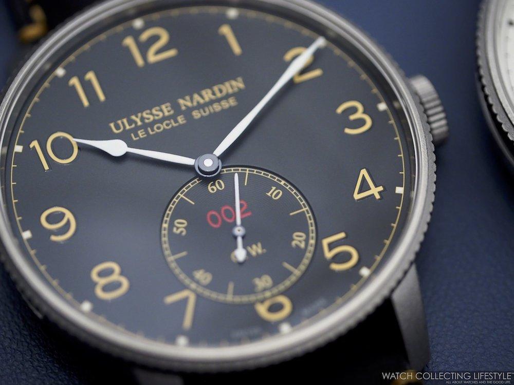 Ulysse Nardin Marine Torpilleur Military Edition Black