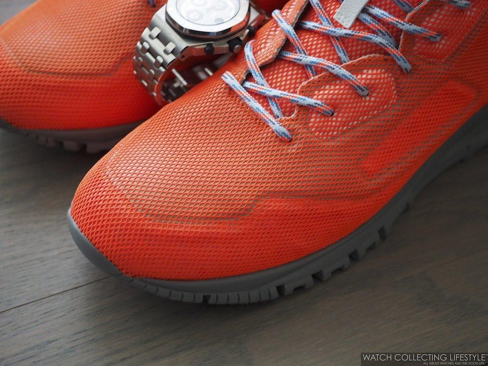 Lanvin Mesh Cross-Trainer Sneakers