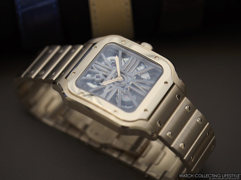 Santos de Cartier Skeleton Large WCL Macro