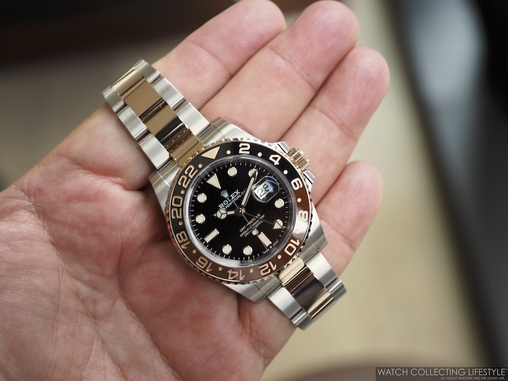 Rolex GMT Master II Everose Rolesor ref. 126711CHNR a.k.a 'Rootbeer'