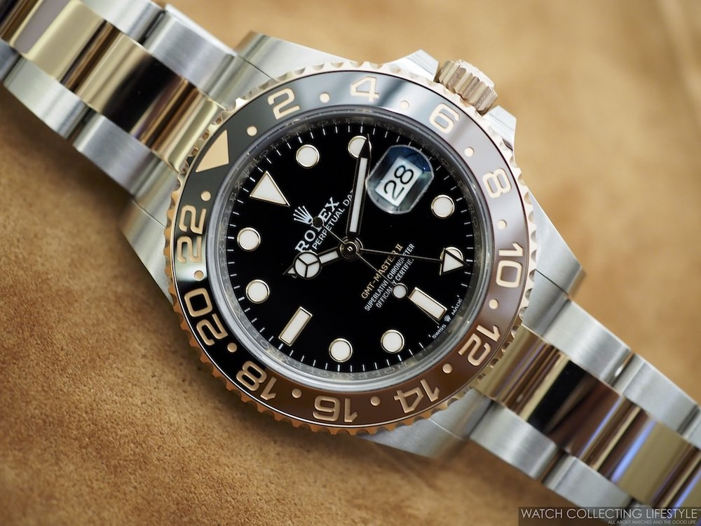 Rolex GMT Master II Everose Rolesor ref. 126711CHNR a.k.a 'Rootbeer' WCL