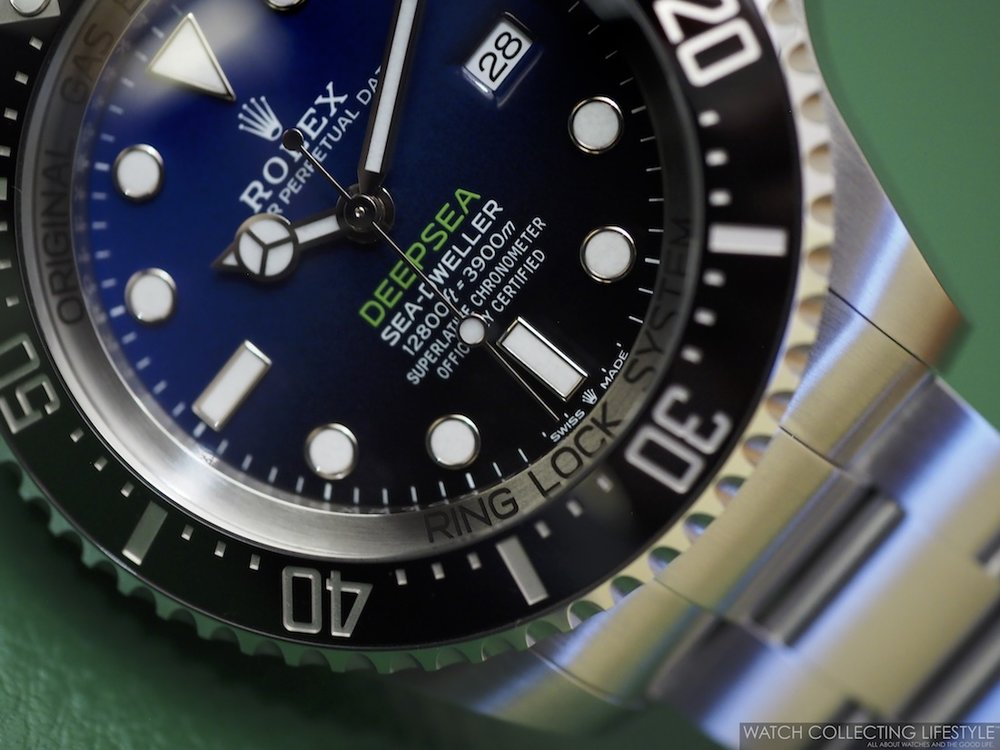 Rolex Deepsea D-Blue Dial ref. 126660 a.k.a James Cameron