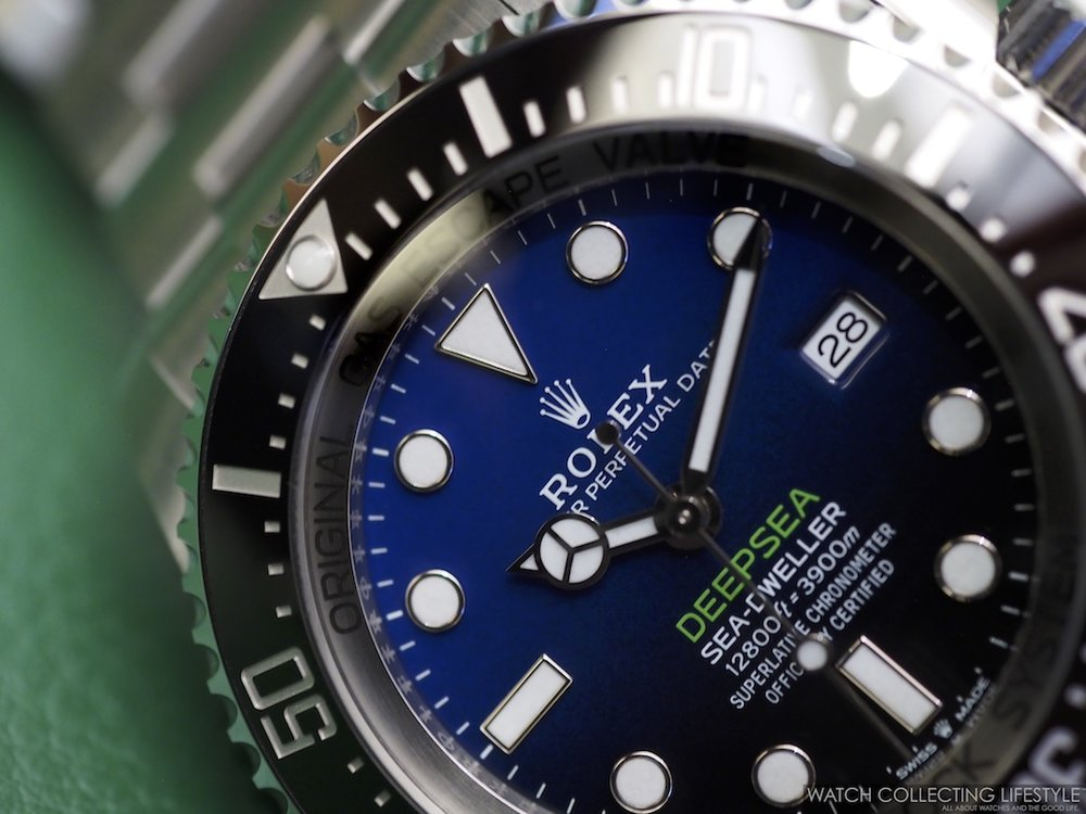 New Rolex Deepsea D-Blue Dial ref. 126660 a.k.a James Cameron