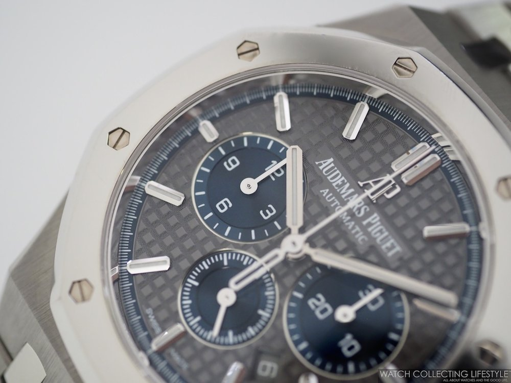 Audemars Piguet Royal Oak Chrono Titanium with Platinum ref. 26331IP