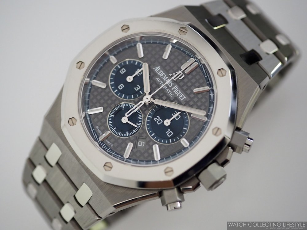 Royal Oak Chronograph ref. 26331IP.OO.1220IP.01