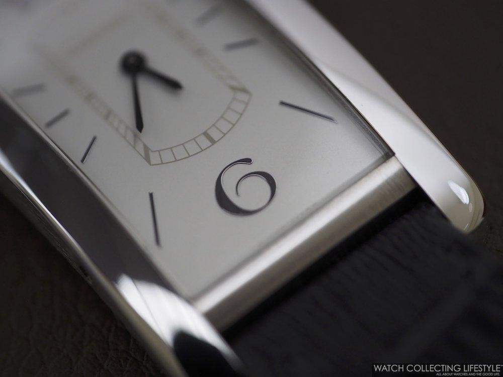 Cartier Tank Cintrée Platinum Dial
