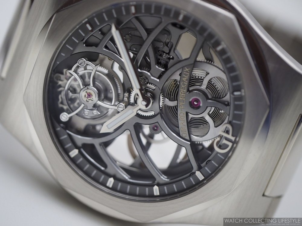 Girard-Perregaux Laureato Flying Tourbillon Skeleton