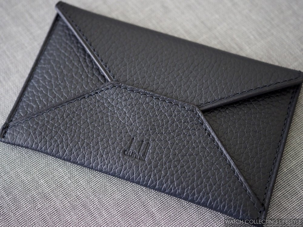 Alfred Dunhill Business Card Leather Envelope