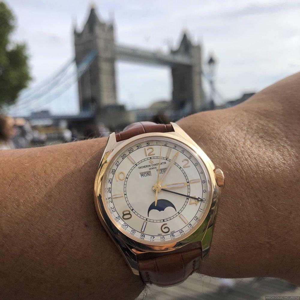 Tower Bridge London Vacheron Constantin FiftySix
