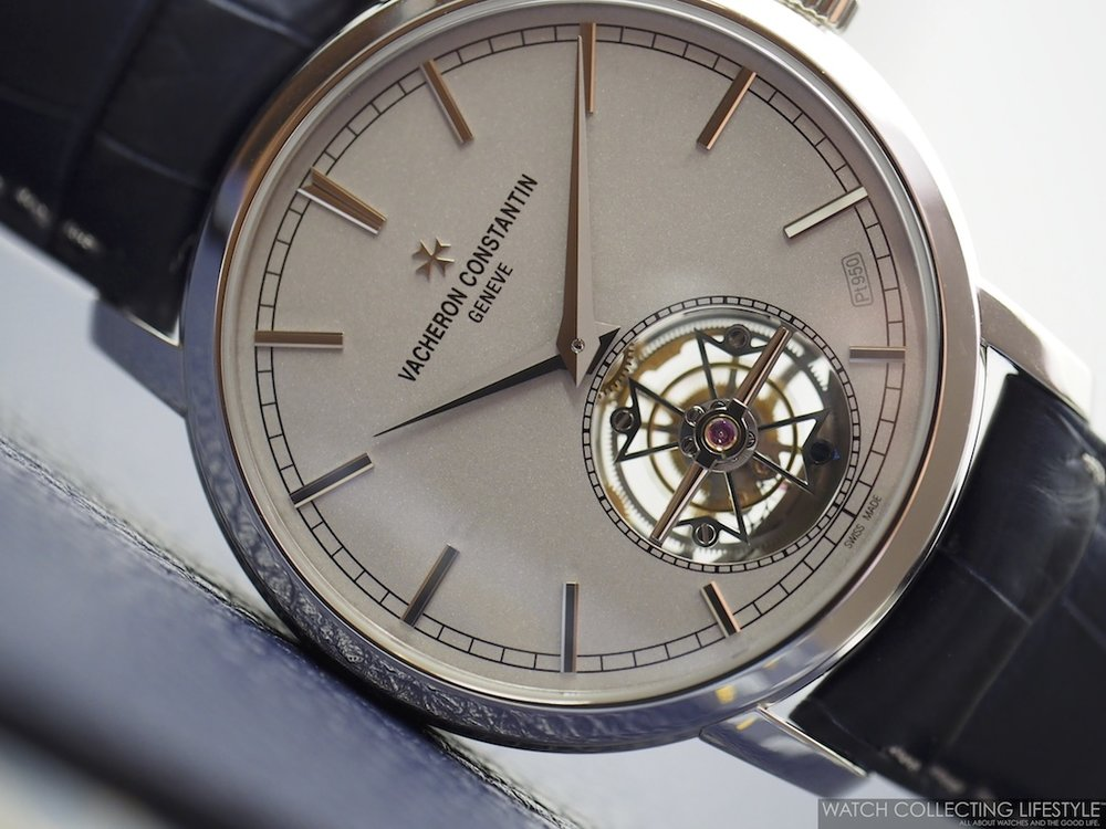 Vacheron Constantin Traditionnelle Tourbillon Collection Excellence Platine