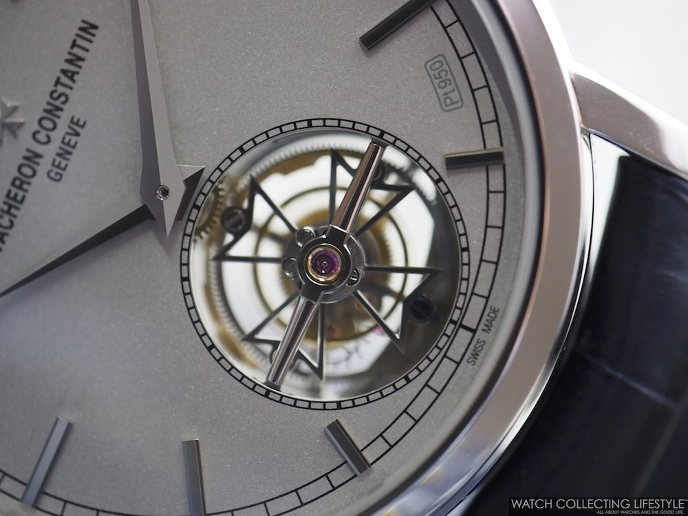 Vacheron Constantin Traditionnelle Tourbillon Collection Excellence Platine WCLMacro