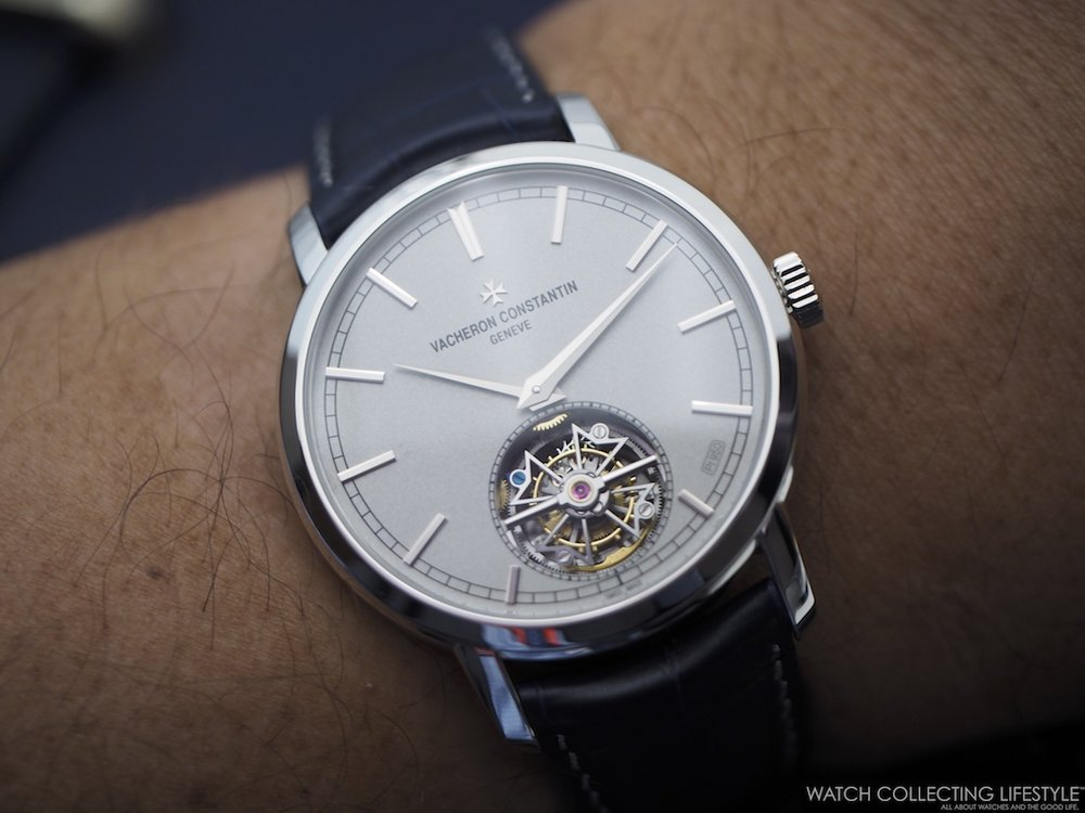Vacheron Constantin Traditionnelle Tourbillon Collection Excellence Platine Wristshot