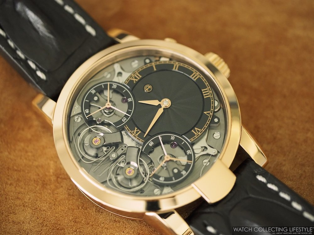 Armin Strom Mirrored Force Resonance Fire Guilloché Dial