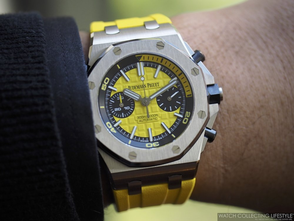 Audemars Piguet Royal Oak Offshore Diver Chrono Wristshot