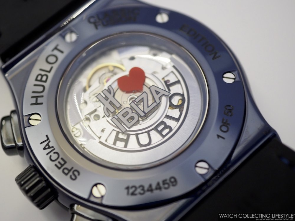 Hublot Classic Fusion Ibiza Case Back