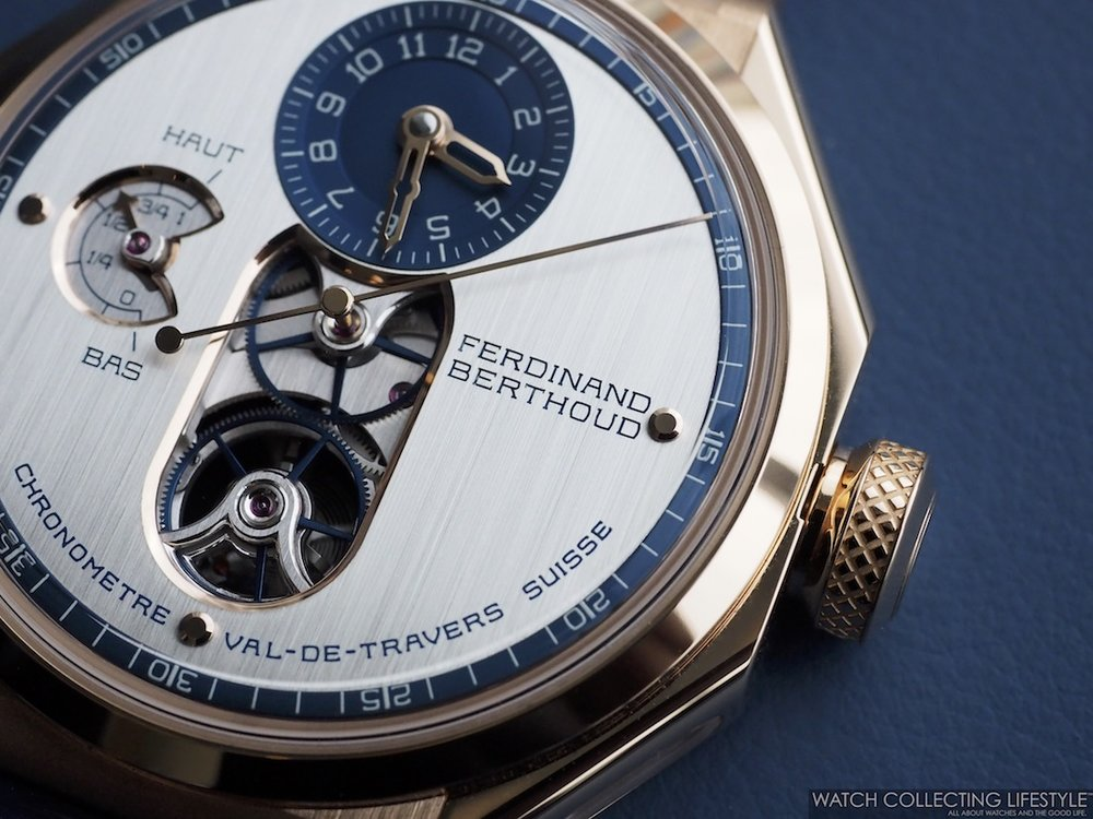Ferdinand Berthoud Chronomètre FB 1 Malaspina Edition Macro WCL