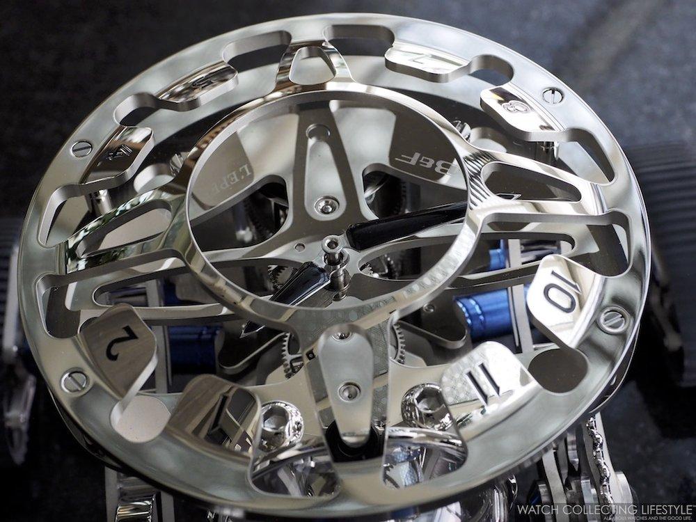 MB&F L'Epée 1839 Grant Clock Macro WCL