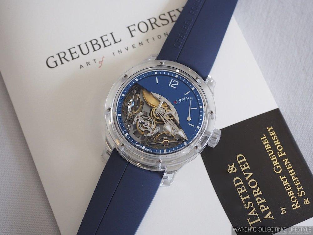 Greubel Forsey Double Balancier Sapphire