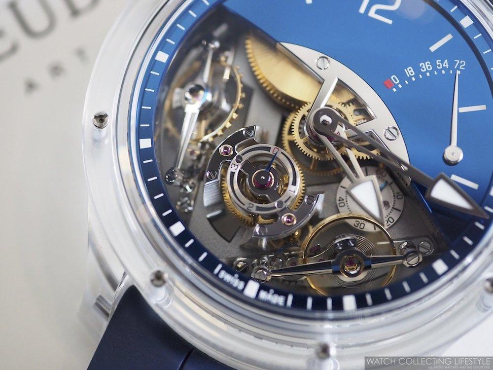 Greubel Forsey Double Balancier Sapphire Macro WCL