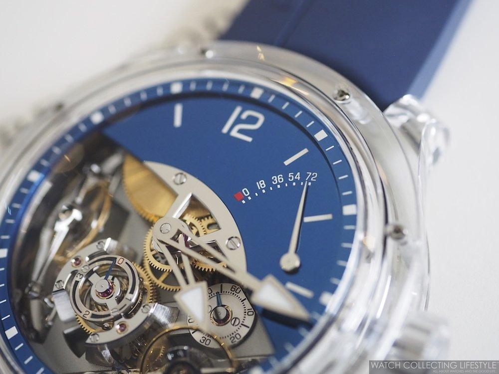 Greubel Forsey Double Balancier Sapphire WCL3