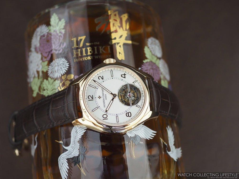 The Hibiki 17 Limited Edition Japanese Harmony Whisky and Vacheron