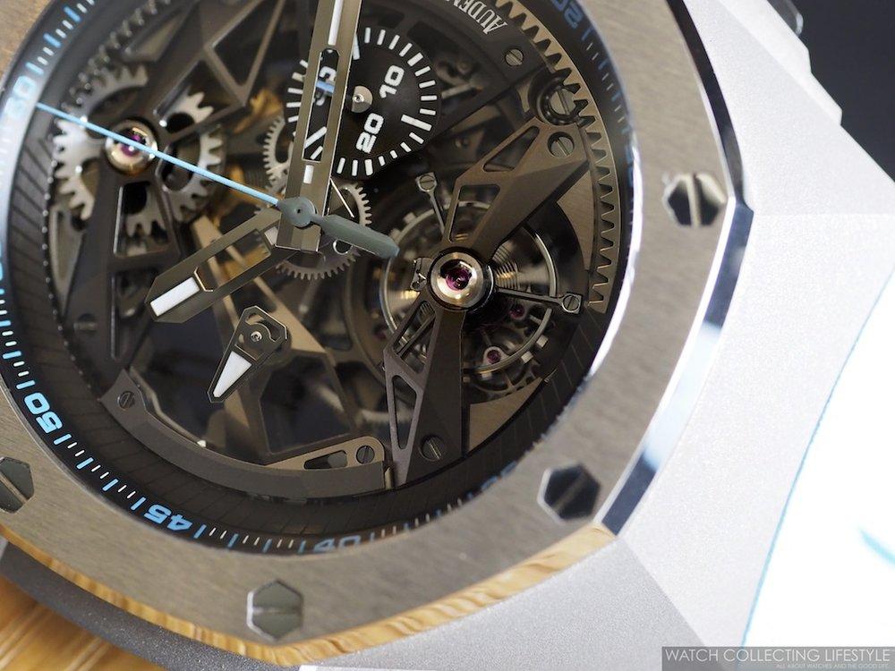 Audemars Piguet Royal Oak Concept Tourbillon Chronograph Openworked WCL