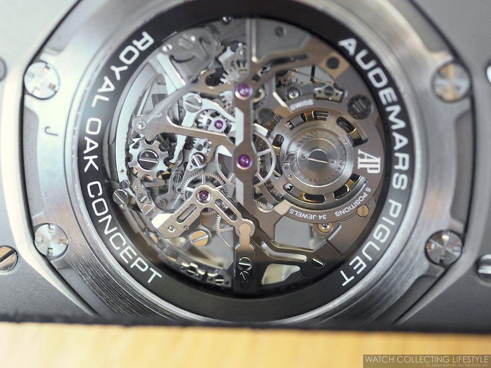 Audemars Piguet Royal Oak Concept Tourbillon Chronograph Openworked ref. 26587TI