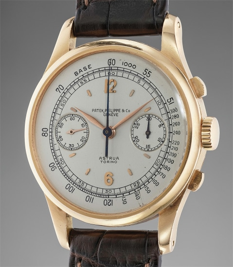 Patek Philippe ref. 530 in Pink Gold Retailed by Astrua Torino