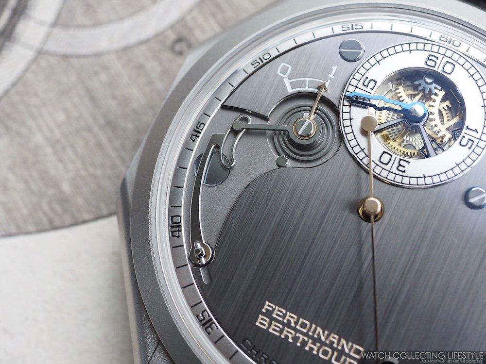 Ferdinand Berthoud Chronomètre FB 1R.6-1 CementSteel