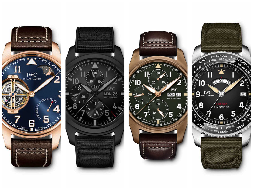 01ba6afb311 Pre-SIHH 2019  New Range of IWC Pilot s Watches Just Unveiled. Four Very  Good Looking New Watches.