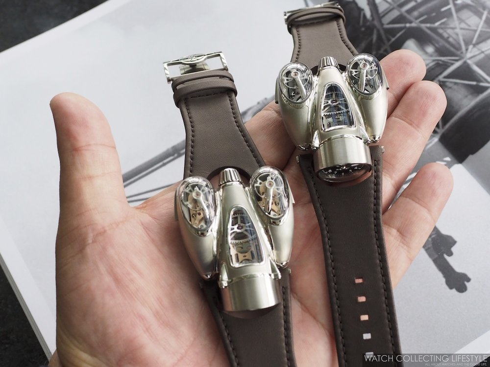 MB&F Horological Machine No. 9 'Flow' on Hand