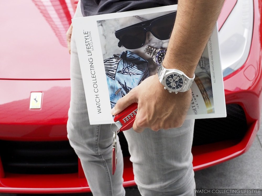 Ferrari 488 Spyder Watch Collecting Lifestyle